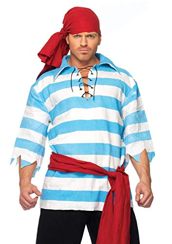 Captain Hook Costumes For Men - Leg Avenue Men's Pillaging Pirate Costume,