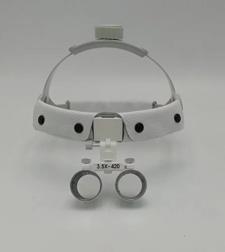 SoHome Headband Surgical Medical Binocular Loupes 3.5X420mm Dental Lab Equipment DY-108 White by SoHome (Image #3)