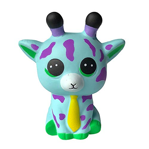 Loneflash Squeeze Toy for Stress Relief. Adorable Llamas Alpaca Scented Slow Rising Fruit Scented Toys (Mint Green)