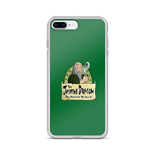 iPhone 7 Plus/iPhone 8 Plus Case Clear Anti-Scratch The Jasmine Dragon Tea House Cover Phone Cases for iPhone 7 Plus iPhone 8 Plus