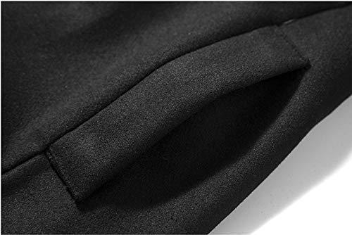 Veste Hoodies Coat Longues Trench Outwear d'hiver Femme Manches Manteau 6WSFA6a8