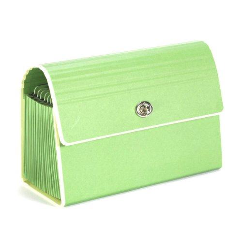 Semikolon 19-Pocket Accordion File, Lime Green (26312)