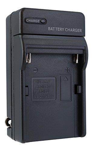 Price comparison product image Sony DSLR-A200 Digital Camera Battery Charger - TechFuel AC & DC Compatible Travel Battery Charger