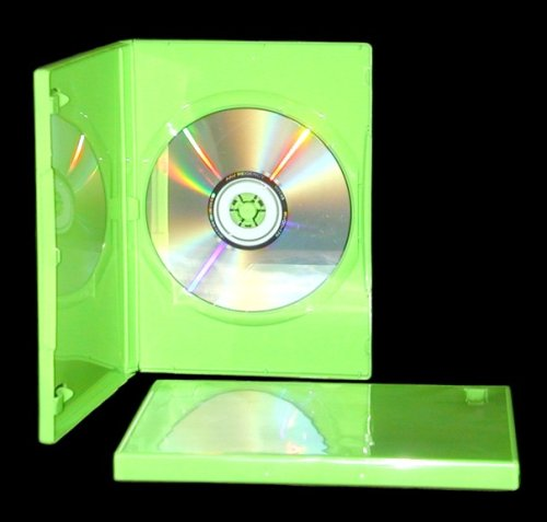 mediaxpo 10 STANDARD Solid Green Color Single DVD ()