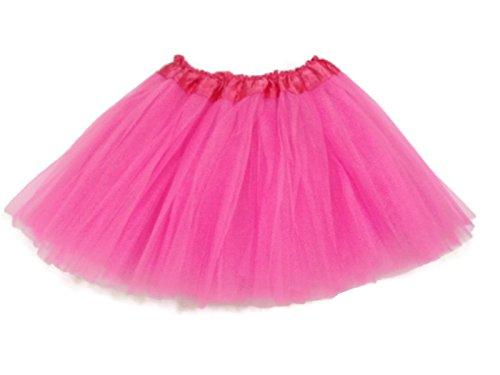 Rush Dance Ballerina Girls Dress-Up Princess Fairy Costume Recital Tutu (Kids 3-8 Years, Special Pink)