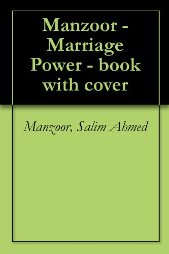 Manzoor - Marriage Power - book with cover