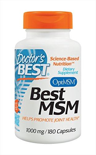 Doktors Best MSM 1000mg, Kapseln, 1er Pack (1 x 180 Stück)