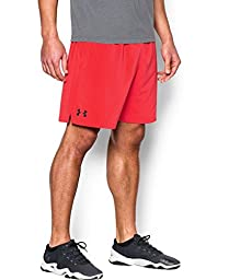 Under Armour Men\'s UA HIIT Woven Shorts Medium ROCKET RED