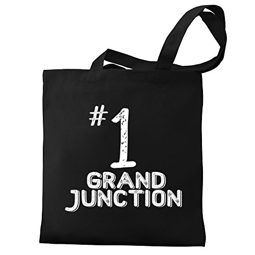 Eddany Number 1 Grand Junction Canvas Tote - Shopping Grand Junction