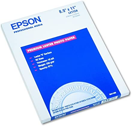 Epson S041405 Premium Luster Sheets product image