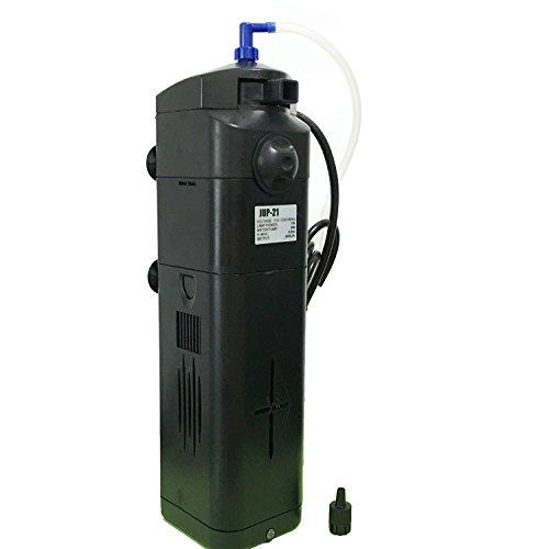 Owncons 7w Uv Sterilizer Adjustable Pump Filter 150 Gal Aquarium Fish Tank (7W)