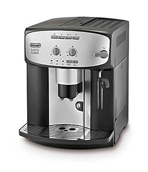 DELONGHI Esam 2803 Caffe Corso Cafetera automática - Plata/Negro by: Amazon.es: Hogar