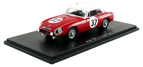 60% de descuento Spark – Miniatura de Coche MG MGB Le Le Le Mans 1964 (Escala 1 43, S5078, Rojo blancoo  venta