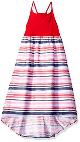 ' Spaghetti Strap Fashion Dress, Red Chiffon, 6X ()