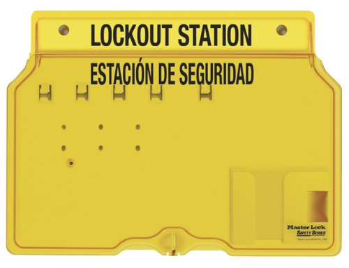 Master Lock Spanish/English 4-Padlock Capacity Station With Cover, ()