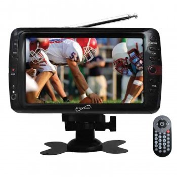 Supersonic SC-195 7 Portable LCD TV W/Remote and ATSC Digital Tuner by SHARPERVIEW by SHARPERVIEW