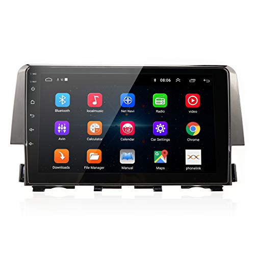 Android 9.0 Car Stereo for Honda Civic 2015 2016 2017 Radio with 9