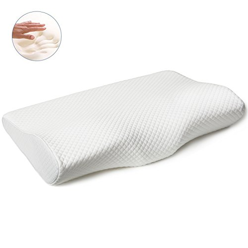 EPABO-Contour-Memory-Foam-Pillow-For-Sleeping-Ergonomic-Orthopedic-Design-Naturally-Antimicrobial-Pillows-For-Back-Side-and-Neck-Pain-Sleepers-Protect-Your-Neck-Now-with-Pillowcase-Cover