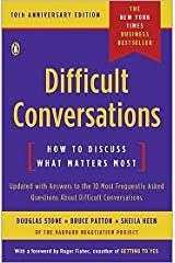 Difficult Conversations 10th (tenth) edition Text Only Unknown Binding