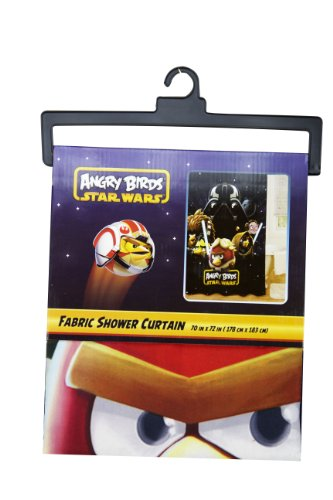 Angry Birds Star Wars Fabric Shower Curtain 70