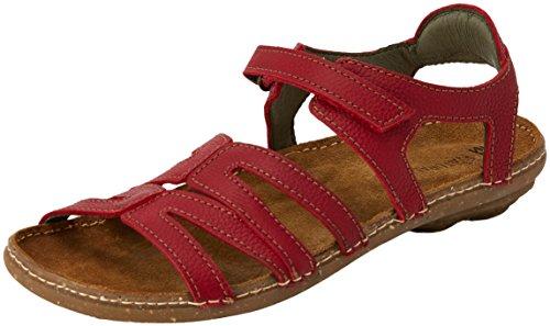 El Naturalista Women's N5220 Open Toe Sandals Red (Tibet) UiVB6M1Ll