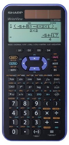 36 opinioni per Sharp EL-W506XB-VL Calcolatrice