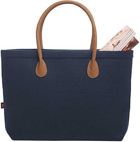 30 Bag gold Marine X silber Buyer Navy Velourhenkel Navy 47 Cm X10 5 4 Monogram Navy Felt 7xdqH7