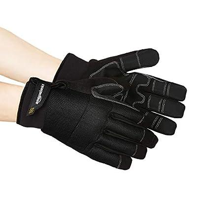 Basics Premium Waterproof Winter Plus Performance Gloves, Black, XXL: Industrial & Scientific