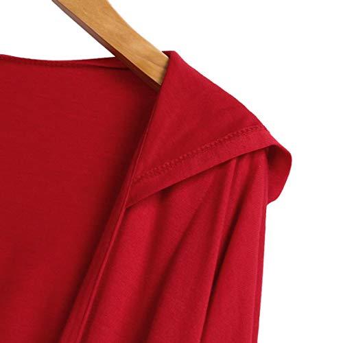 Spbamboo Womens Cardigan Oversize Long Jacket Open Front Bat Sleeve Coat Outwear by Spbamboo (Image #3)