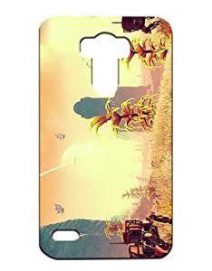 No Man's Sky Cell Phone Cover Case for LG G4 Funda Piel Cool Game Girls Boys (Negra and Diseño) 3D Dura Plastik Protect Luz Vintage Drop Resistant Case for LG G4