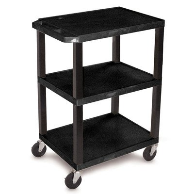 Tube Extension Assembly (Luxor WT34S 3 Shelves Tuffy Utility Cart - Black)