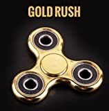 GOLD RUSH Spin Tri Spinner Spinning Fidget Toy for Stress Relief, ADD, ADHD