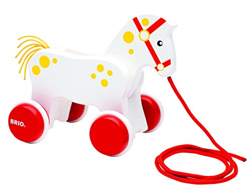 BRIO-130-Anniversary-Pull-Along-Horse-Baby-Toy