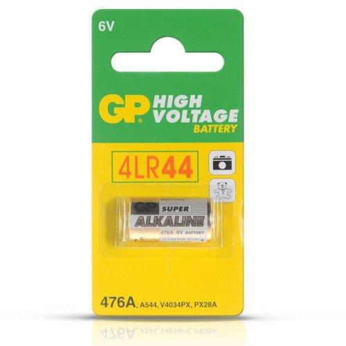GP Alkaline Batteries 476A 4LR44 6V (Pack of 2) (Voltage Alkaline Battery)