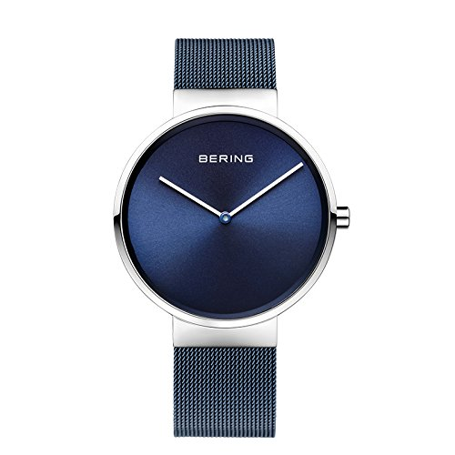 BERING Time 14539-307 Women's classic collection Watch witch Steel Bracelet Steel Case and Analog Sapphire Crystal. Designed in Denmark.