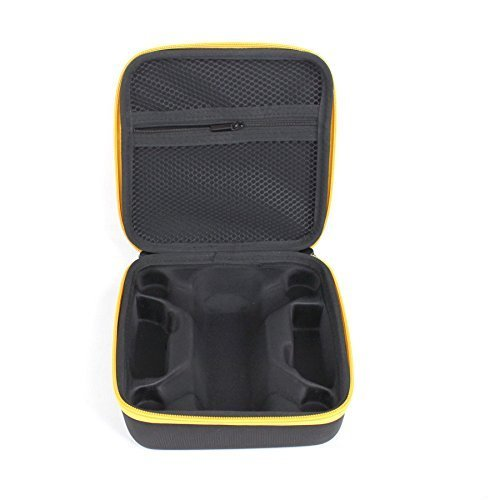 Waterproof Protective Case Bag for DJI SPARK Drone and Accessories Yellow Drone&Transmitter Box Red