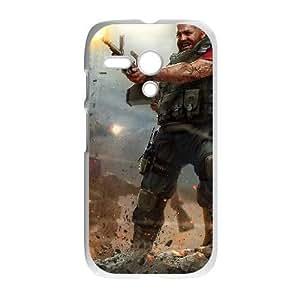 HD Beautiful image for Motorola G Cell Phone Case White world of mercenaries character HOR3838654