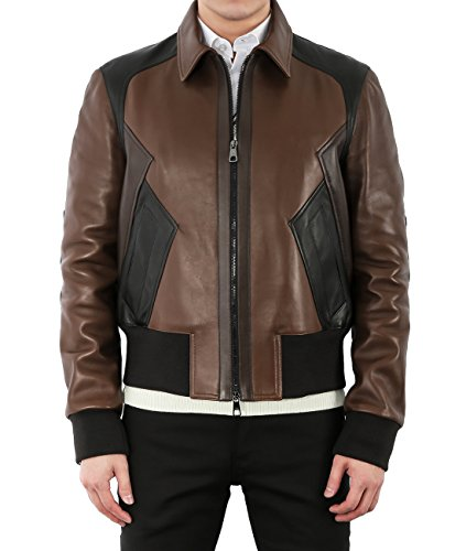 wiberlux-neil-barrett-mens-paneled-zip-up-leather-jacket-m-brown