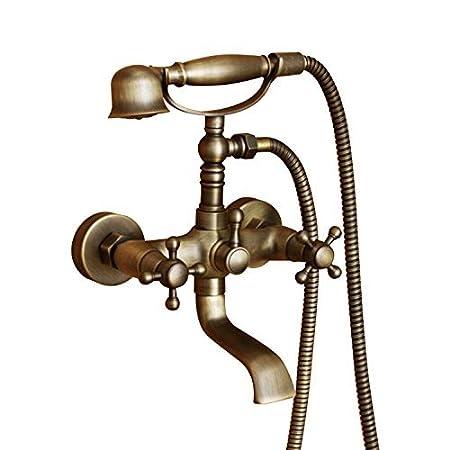 Lightinthebox Bronze Antique Brass Bathroom Shower Tap Mixer Bath