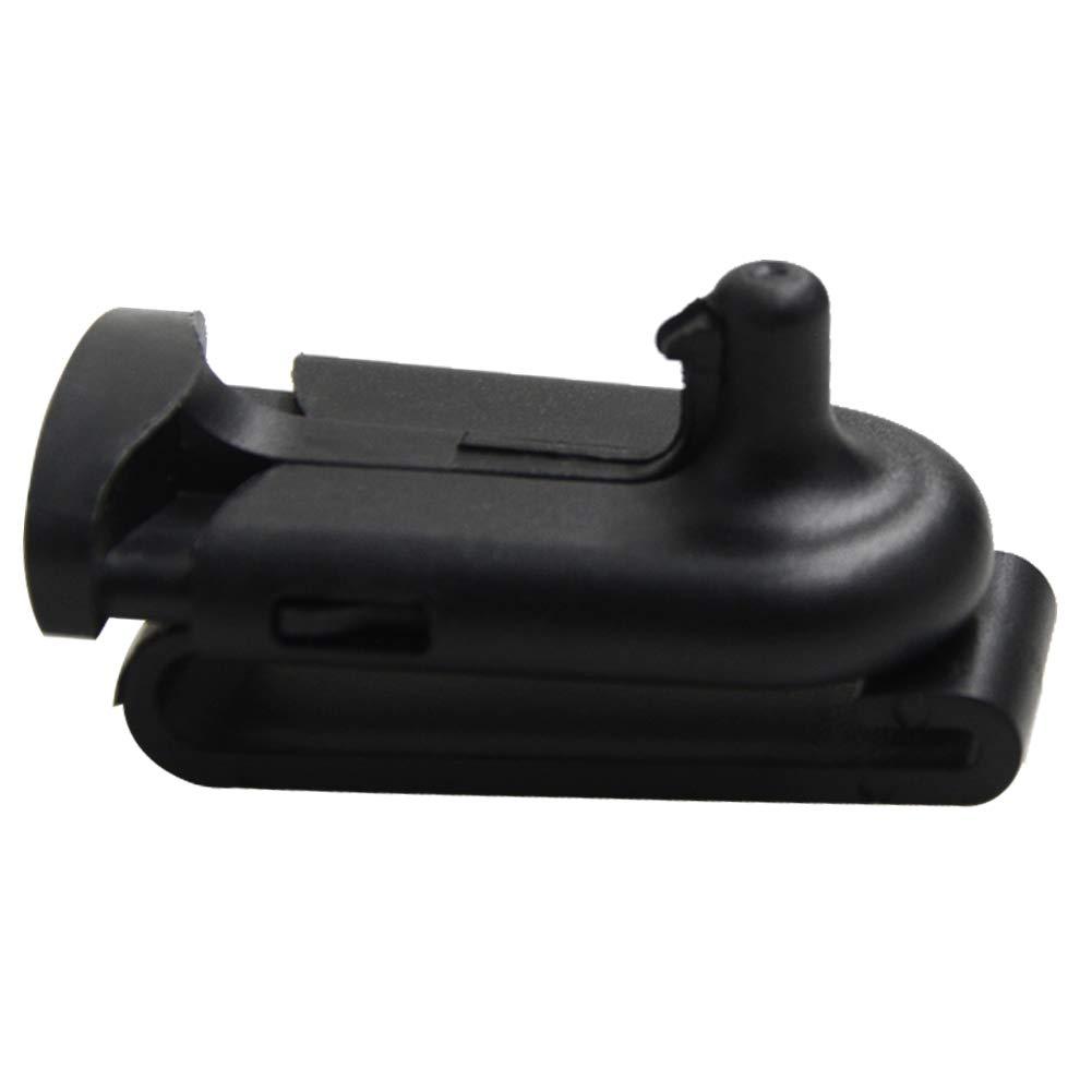 TENQ Walkie Talkie Replacement Belt Clip NTN9392B Swivel Belt Clip for Motoro Talkabout Two Way Radio T6200 T5728 T5428 MS350R MC225R T6200 T5728 T5428 T5720 T9000 T289 SX750 MB140R EM1020R 10 Packs