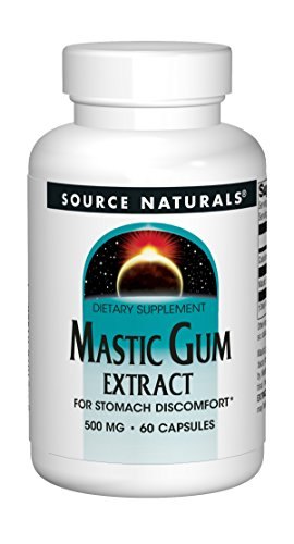 SOURCE NATURALS Mastic Gum Extract 500 Mg Capsule, 60 Count