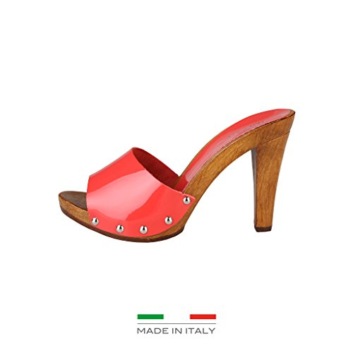 Made in Italia - Sabots pour femme (MAURA_CORALLO) - Rouge