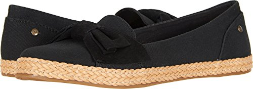 UGG Women's Abigail Loafer Flat, Black, 7.5 M US
