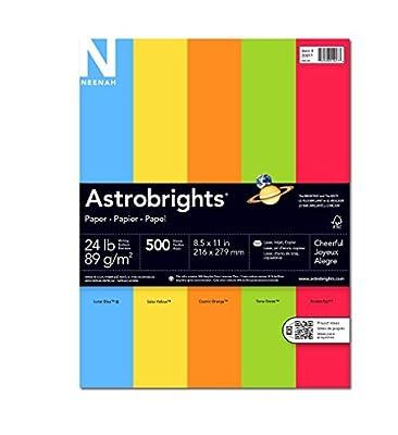 Wausau Astrobrights Premium Assorte