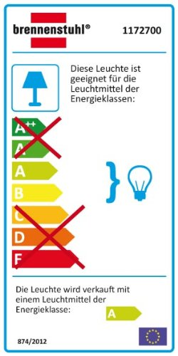 Brennenstuhl 1172700 Lampe de chantier Jet-Light ELH 38 IP 54