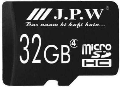 JPW J.P.W 32  GB SD Card Class 6 32 MB/s Memory Card