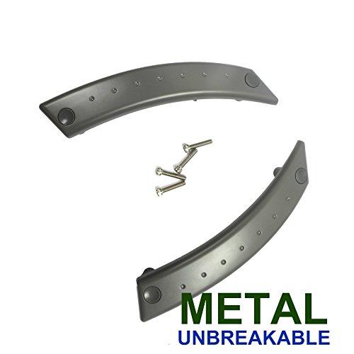 For 98-10 Volkswagen Beetle GRAY Metal Reinforced Door Panel Repair Kit Pair 2PCS 98 99 00 01 02 03 04 05 06 07 08 09 10