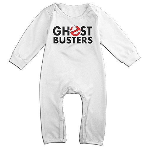 Kamici Baby Who Is Ghostbusters Long Sleeve Romper Suit Climb Clothes White 18 (Mavis Costume For Toddlers)