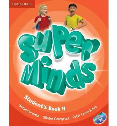 [(Super Minds Level 4 Student's Book with DVD-ROM)] [ By (author) Herbert Puchta, By (author) Günter Gerngross, By (author) Peter Lewis-Jones ] [January, 2016]