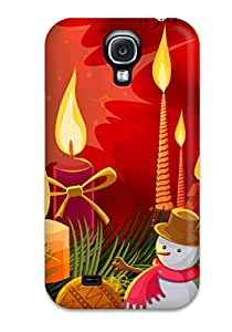 New Super Strong Merry Christmas Tpu Case Cover For Galaxy S4